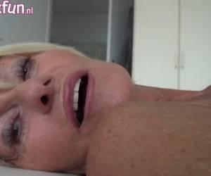 Mastuberende oma