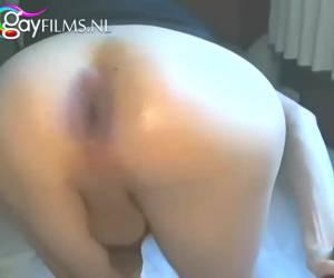 Extreem anal mastuberen
