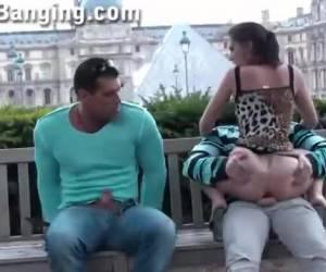 Spannend trio in openbare ruimte